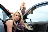 12 Gauge promotion models - Sarah and Becky